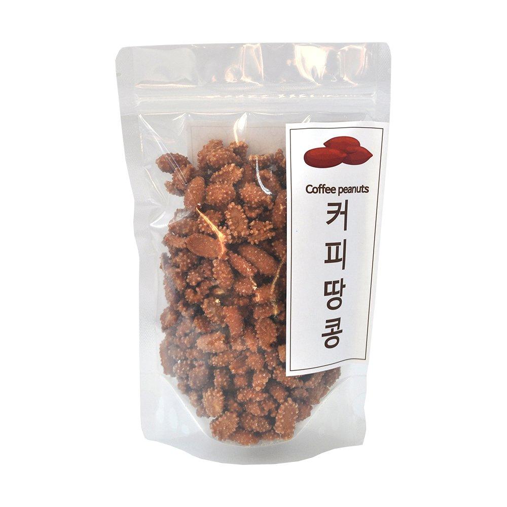 [논앤밭위드] 휴대간편견과 커피땅콩 휴대파우치형 200g